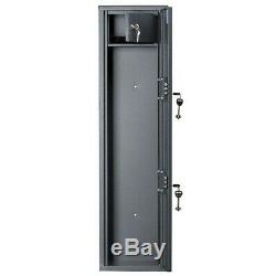 1 Gun Rifle Shotgun Storage Metal Lockable Cabinet Security Steel Safe 3.28 ft