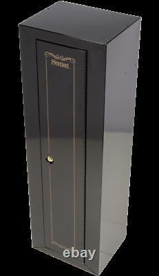 10-Gun Fully Convertible Cabinet Storage System, 3-Point Locking System Gun Safe