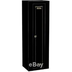 10 Gun Security Cabinet Rifle safe storage gun box Firearm steel locker key rack