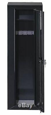 10 Gun Security Cabinet Safe Firearm Rifle Lock Shotgun Storage Safety Closet
