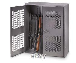 12 Gun Metal Storage Safe Locker Lockable Firearms Rifle Shotgun Cabinet 36 x 42