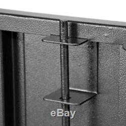 12 Gun Security Cabinet Rifle and Shotgun Storage, Steel 55 X 18 X 12-1/2