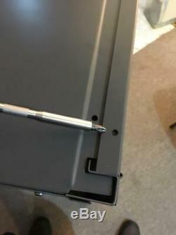 12 Gun Storage Locker Metal Shotgun AR MSR Rifle Cabinet Rack Lockable Safe 42H