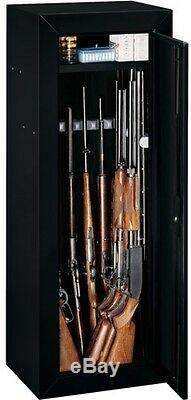 14 Gun Security Cabinet Safe Rifle Shotgun Firearms Storage Locker Key Coded