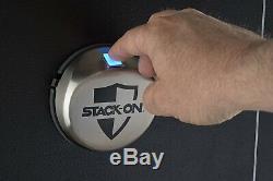 16 Gun Security Safe Biometric Fingerprint Lock Safety Storage Cabinet Steel New