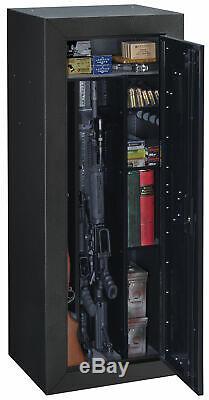 16-Gun Tactical Metal Security Rifle Shotgun Locking Storage Cabinet Home Safe