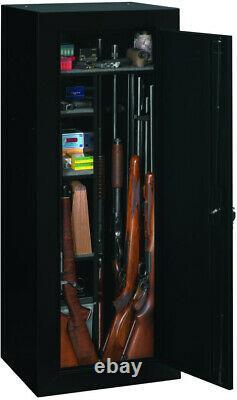18 GUN CABINET Safe Vault Storage Convertible Locker Shotgun Shelf Rack Firearm