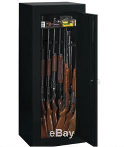 18 Gun Cabinet Convertible Cabinet Safe Vault Storage for Rifle Pistol Shotgun