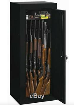 18 Gun Safe 54 Long Steel Lock Box Weapon Storage Home Security Cabinet