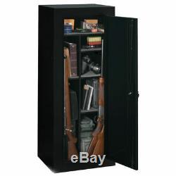 18 Guns Cabinet Safe Vault Storage Convertible Locker Shelf Rack Firearm Shotgun
