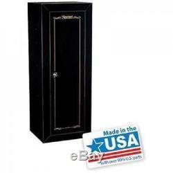 18 count Shotgun Rifle Gun Security Home Cabinet Firearms Storage Locker