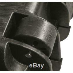 2 Long Gun HARD CASE TSA Approved Wheels Waterproof Storage Carry Pad Lock Box