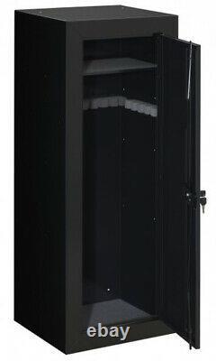 22-Gun Steel Gun Security Cabinet Locker Storage Rifle Safe with Portable Gun Case