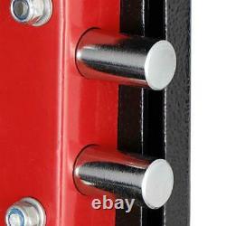 3-Gun Rifle Gun Storage Security Shotgun Pistol Cabinet Lock Safe Firearm Case