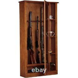 5.51 cu. Ft. 10 gun cabinet and curio