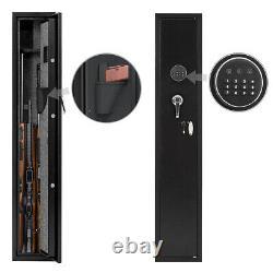52 Digital 3 Rifle Gun Security Cabinet Safe Storage Firearm Electronic Safe
