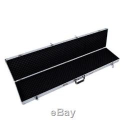 53 Arms Gun Case Hard Shell Rifle Scope Storage Safe Box Waterproof Tactical