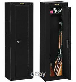 8 GUN SAFE CABINET Rifles Security Storage Locker Shelf Rack Shotgun Pistol Box