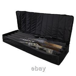 Allen Company Long Gun Rifle Under the Bed On Shelf Gun Storage Locker, Black