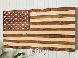 American Flag Concealment Compartment Cabinet Secret Hidden Gun Storage Case