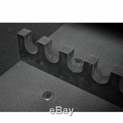 American Furniture Classics 501 Gun Concealment Storage Bench, Gunmetal Gray