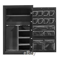 B RATED Fireproof Gun Safe Storage for Rifle Ammo with Combination Lock 59x36x25