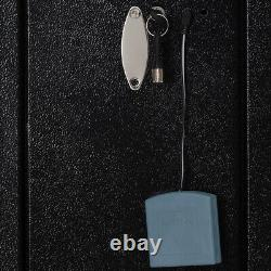Biometric Fingerprint Gun Safe Steel Electronic Firearm Storage Security Cabinet