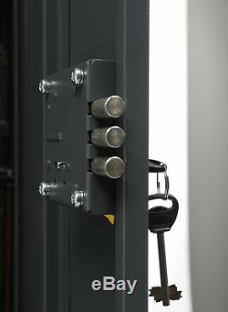 Buffalo 1320 Gun Rifle Shotgun Metal Security Cabinet Safe Storage Case Rack