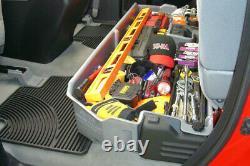 DU-HA For 07-18 Toyota Tundra Double Cab Black 60051 Underseat Storage Gun Case