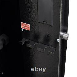 Digital Gun Safe Quick Access Electronic Firearm Storage Steel Security Cabinet