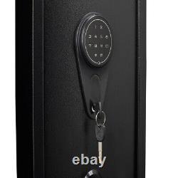 Digital keypad Gun Safe Electronic Storage Steel Security Cabinet for 4-5 rifles