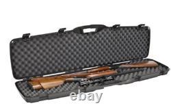 Double Carry Rifle Hard Case Foam Padded Sports & Outdoors Gun Storage Lock NEW