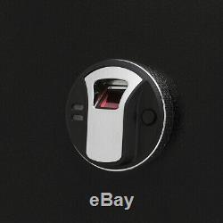 Electronic 5 Rifle Gun Safe Firearm Storage Cabinet Handguns Ammo Biometric Lock