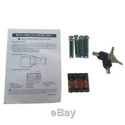 Electronic Gun Rifle Storage Lock Safe Safe Box Depository Steel Metal Vault US