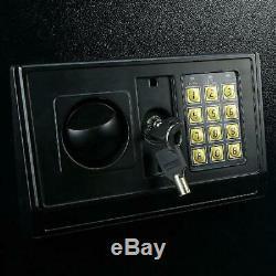Electronic Lock 5-Gun Rifle Safe Large Security Storage Cabinet Locker & Loc