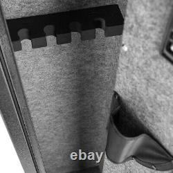 Fingerprint Gun Safe Rifle Shotgun Firearm Storage Cabinet Case Heavy Duty Steel