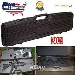 Flambeau Gun Case Tactical Scoped Gun Rifles AR MSR Hard Hunting Storage
