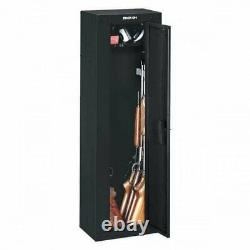 GUN SAFE CABINET Firearm 8 Rifles Security Storage Locker Shelf Shotgun Pistol