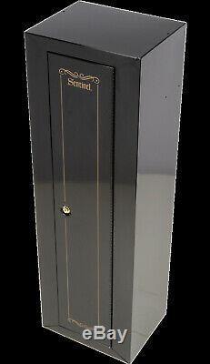 GUN SAFE Cabinet 10 Gun Rifle Shotgun Firearms Ammo Storage Locker