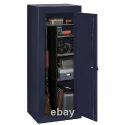 GUN SAFE Cabinet 18 Firearm Rifles Shotgun Pistol Security Storage Locker Shelf