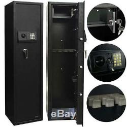 GUN SAFE Electronic 5 Rifle Large Firearms Shotgun Storage Cabin FREE DELIVERY