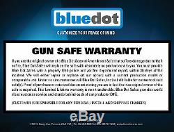 GUN SAFE Long Rifle Shotgun Storage w keypad Lock 72x40x27 with GARAGE DELIVERY