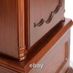 Grandfather Clock 6 Gun Rifle Cabinet Safe Storage Concealment Lock Living Room