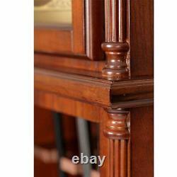 Grandfather Clock 6 Gun Rifle Cabinet Safe Storage Lock Living Room Antique