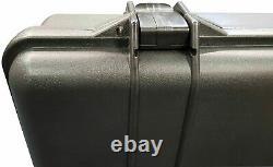 Gun Case Hard Carry Range Storage for Pistol Rifle Shotgun Hunting Foam Padded