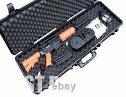 Gun Case Hard Tactical 41 Rifle Pistol Secured Storage Foam Padded HEAVY DUTY