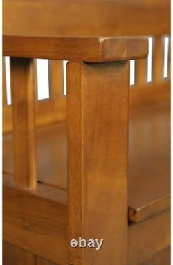 Gun Concealment Bench Cabinet 5 Rifles Storage Shotgun Firearm Safe Chest Rack