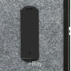 Gun Electro Firearm Rifle Storage Cabinet with Handgun Lock Box Digital Keyboard