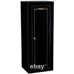 Gun Safe 18Gun Storage Security Cabinet Steel Fully Convertible Shelves Secure