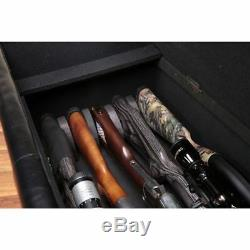 Gun Safe Bench Guns Storage Ottoman Long Rifles Benches Rest Pistols Workbench